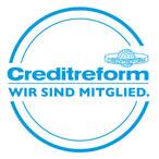 Creditreform: Wir sind Mitglied