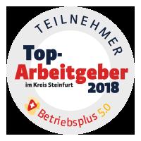 Top Arbeitgeber Münsterländer Heinzelmännchen GmbH - Siegel Betriebsplus 5.0